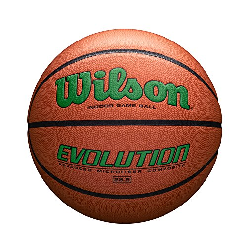 Wilson Evolution Indoor Game Basketball, Intermediate Size (28.5