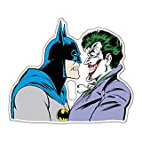 Fan Emblems Batman Vs Joker Character Car Decal Domed Multicolor Clear - DC Comics Automotive Emblem Sticker Applies Easily to Cars - Trucks - Motorcycles - Laptops - Windows - Almost Anything
