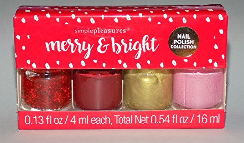 Glitter Merry Bright (Merry & Bright Nail 4 Piece Polish Collection)