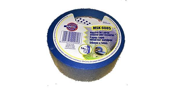 Cinta Papel Azul adhesivo msk6085 EUROCEL - Blue Masking Tape para ...