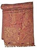 Indian Bedspread- Galicha India Inspired Print Hand Loom Woolen SL876