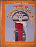 img - for Zaner-Bloser Handwriting Grade 4 Opens the Door to Communication book / textbook / text book