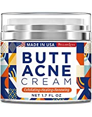 Butt Acne Clearing Cream, Thigh Acne Clearing treatment, Made in USA, Clears Acne, Pimples, and Dark Spots for the Buttocks and Thigh Area. Moisture, Heal and Recover with noticeable result in 4 days