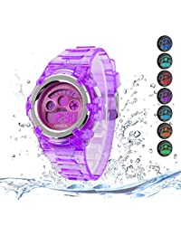 Kids Watches Outdoor Sports Children Watch Stopwatch...