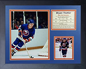 "Bryan Trottier - New York Islanders 11"" X 14"" Framed Photo Collage By Legends Never Die, Inc"