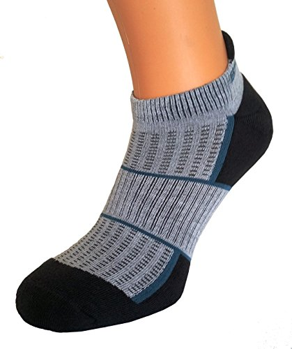 Brubeck Cycling/Biking Dynamic Extreme Women Socks Size UK 3.5-5 EUR 36-38 [BBI002/W] Silver IONS Light Grey/Graphite/Jeans: Amazon.es: Coche y moto