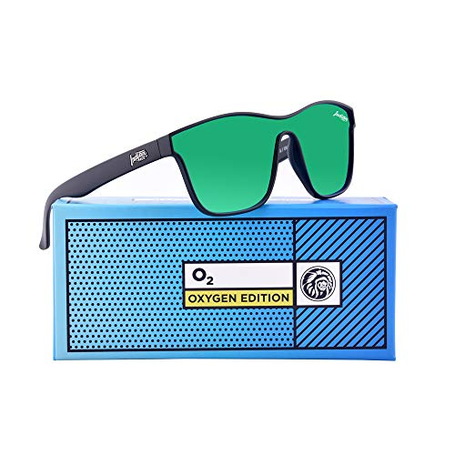 de Oxygen Edition THE 142 FACE Unisex Black Gafas Sol INDIAN PqYwFtwxE