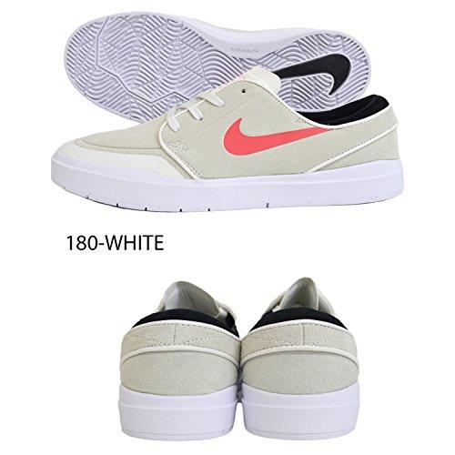 Nike STEFAN JANOSKI HYPERFEEL XT Herren Skateboardschuhe 855922 Summit Weiß / Schwarz / Weiß / Glow Glow