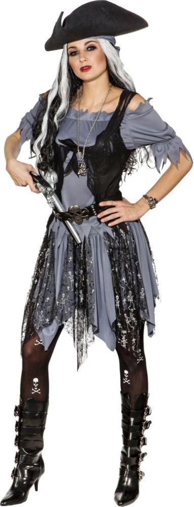 Orlob Damen Kostüm Gothic Geister Piratin Karneval Halloween Gr.38 40 B01M1NQESM Kostüme für Erwachsene Ausgezeichnete Qualität | Hat einen langen Ruf