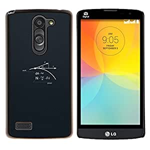 Jordan Colourful Shop - Science Power For LG L Bello L Prime D337 Personalizado negro cubierta de la caja de pl????stico