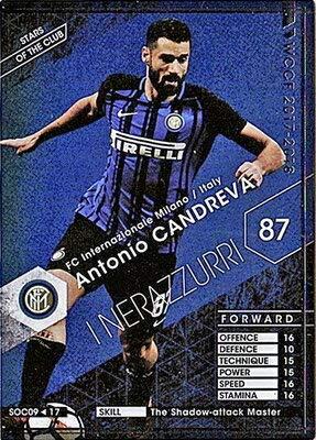 WCCF【17-18 Ver.3.0 /SOC 09】アントニオ・カンドレーバ