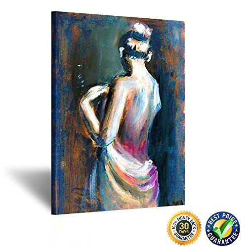 Kreative Arts - Large Size Sexy Lady Angel Naked Oil Painting Printed on Canvas Wall Art Pictures Giclee Canvas Prints Stretched for Bedroom Decorations Ready to Hang - Large Pictures Ladies