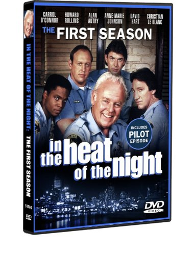 dvd heat of the night - 2