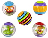 Bright Starts Roll Shake and Spin Activity Balls