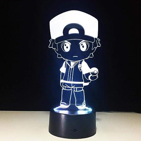 Personnages Anime 3D LED Veilleuse Veilleuse 7 Lumières De