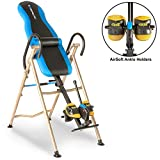 Exerpeutic 225SL Inversion Table with 'Sure lock' Safety Ratchet System Lumbar Support