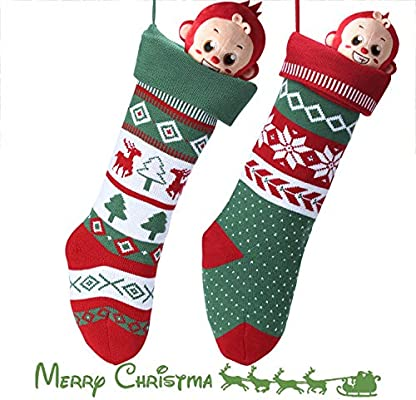 2ed783ccd Knit Christmas Stockings for Family 22