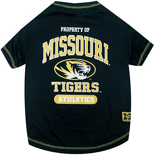 NCAA Missouri Tigers Dog T-Shirt, Small ()