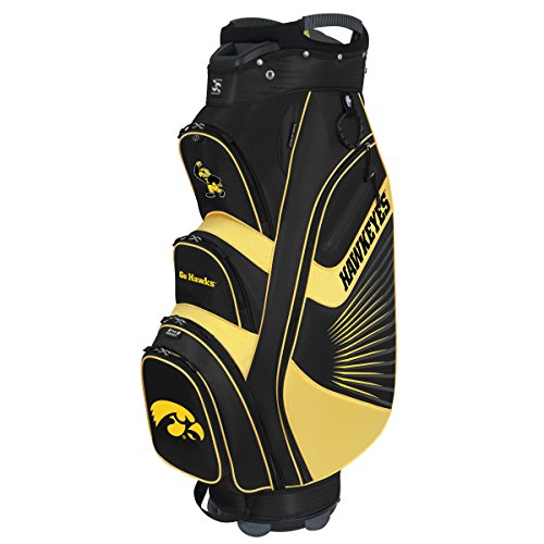 Team Effort Iowa Hawkeyes The Bucket Ii Cooler Cart - Bag Hawkeyes Golf Iowa Cart