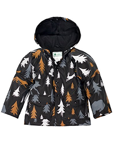 - OAKI Children's Rain Jacket, Wildlife Tracker 5