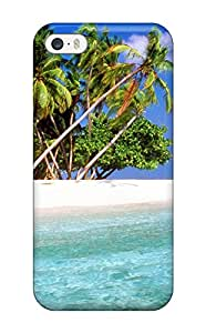 New CdMRqAq3688fEaql Maldives Holiday Skin Case Cover Shatterproof Case For Iphone 5/5s