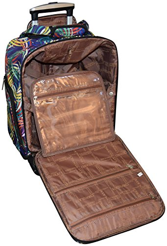 New York Chocolate Travel 18 Inch Carry-On Wheeled Luggage (Blue) by New York Chocolate Travel (Image #4)