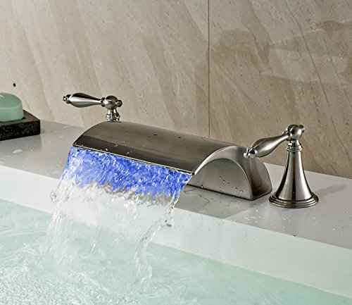 Bath Faucet With Led Light in Florida - 9