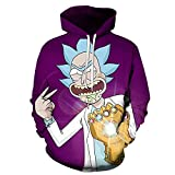 Lu&lu Boys Girls Funny Anime Hoodies Colorful