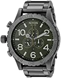 Nixon Men's A0832069 51-30 Chrono Analog Display Japanese Quartz Grey Watch