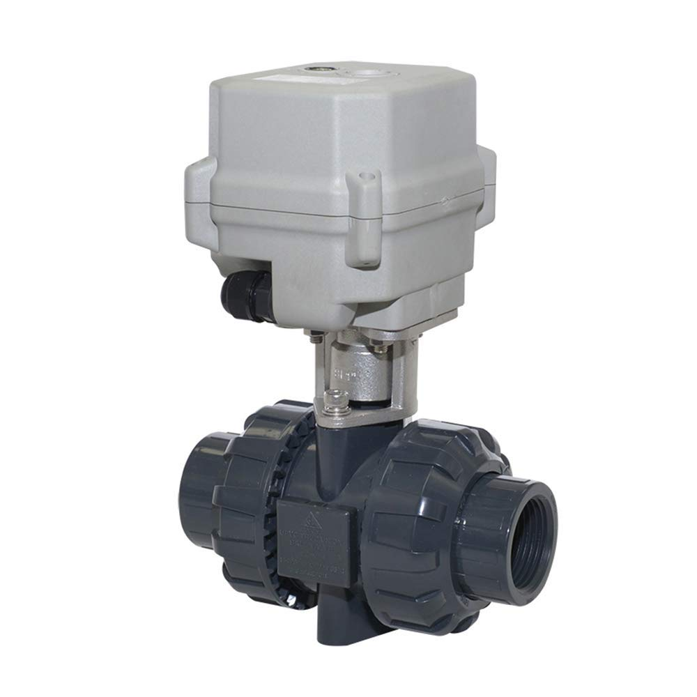 Two Wires Control Normally Open 110vac-230vac Motorized Ball Valve,1