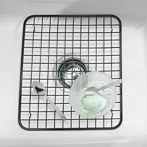 Interdesign Gia Kitchen Sink Protector Wire Grid Mat