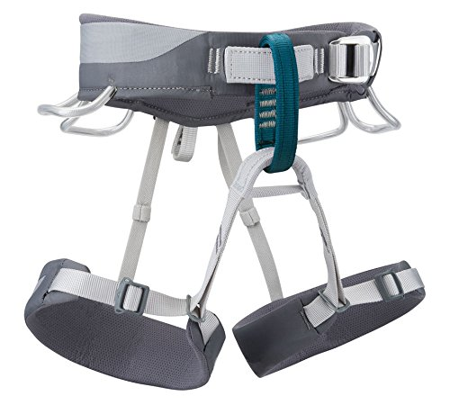 Black Diamond Primrose Women's Harness, Smoke, Medium (25 Inch Riser)