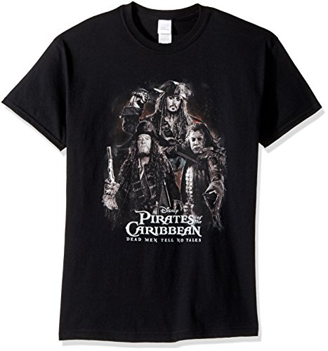 Disney Pirates of Caribbean Dead Men Tell No Tales Logo Tee