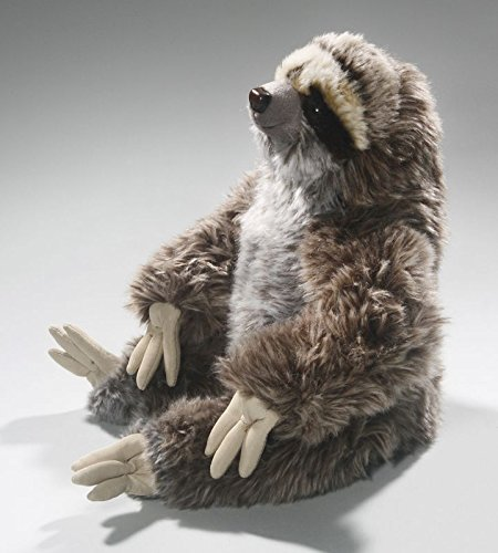 Carl Dick Sloth Sitting 10 Inches, 26Cm, Plush Toy, Soft Toy, Stuffed Animal 3310 -