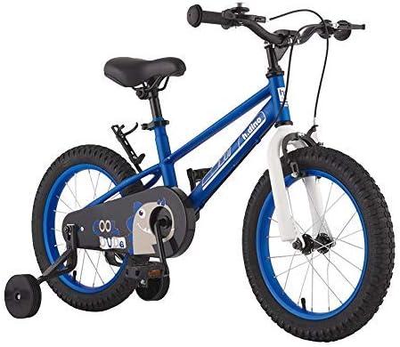 YSA キッズバイク14インチ16インチキッズ自転車、2〜8歳の男の子と女の子に適しており、補助輪とハンドブレーキが付いており、カラーオプションの自転車