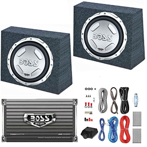 BOSS Subwoofers Sealed Amplifier Wiring