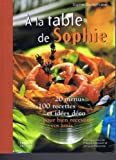 "Afficher ""À la table de Sophie"""