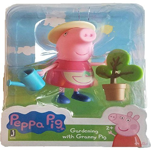 (Peppa Pig Friends and Fun Gardening with Granny Pig Toy Figure)