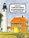 img - for Great Lakes Lighthouse Coloring Book book / textbook / text book
