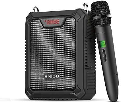 Amplificador de voz Bluetooth, sistema PA de 25 vatios con ...