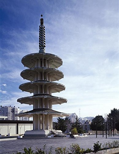 Photo: Peace Pagoda,Japan Center Indoor Mall,San - Mall Francisco Centre San