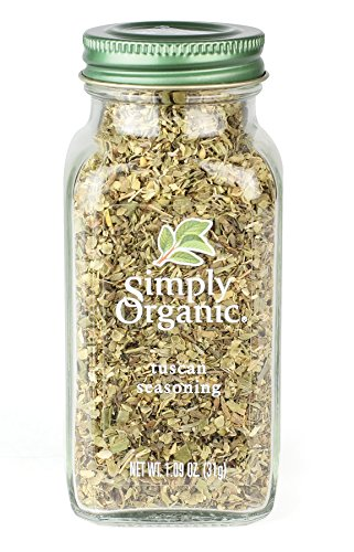- Simply Organic Certified Seasoning, Tuscan, 1.09 Ounce