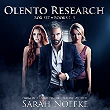Olento Research Series Boxed Set: A Paranormal Science Fiction Thriller Audiobook by Sarah Noffke Narrated by Elizabeth Klett