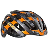 Lazer Z1 Helmet: Matte Black/Camo Flash Orange, SM
