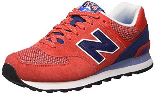 Hiker New ML574 Shoe Men Day Running Balance Red Navy qwgIwFz