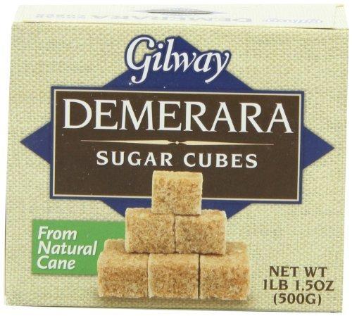 Cubes Sugar (Gilway Demerara Sugar Cubes 500gr-pack 2 Boxes)