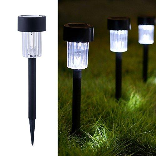 Maggift 12 Pcs Solar Pathway Lights, Landscape Lights for Ou
