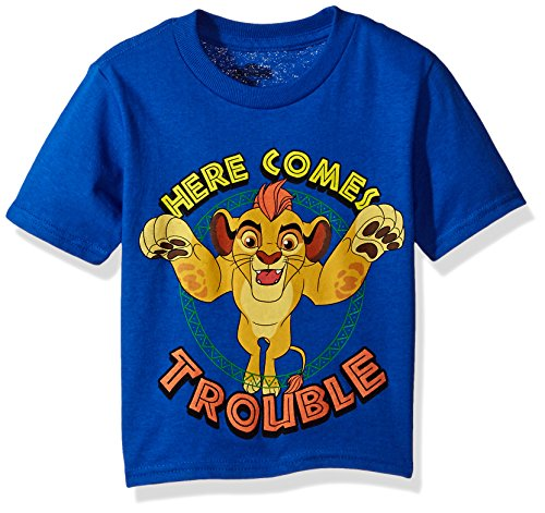 - Disney Toddler Boys' Lion Guard Here Comes Trouble Short Sleeve T-Shirt, Royal, 2T