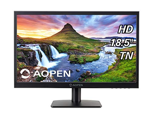 Aopen by Acer 19CX1Q 18.5-inch LED Monitor with VGA Port (Black)