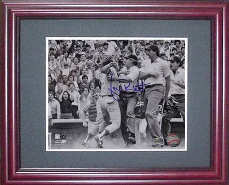 B007FX0BCW George Brett Steiner Signed Framed Photo-8x10 51ahj5ElTdL.